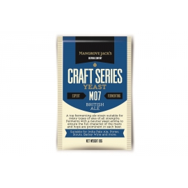 British Ale Yeast M07, 10 гр