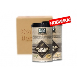 Смесь пивная Black Rock Craft Outmeal Stout (3.4 кг)