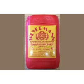 Неохмеленный солодовый экстракт Weyermann Пильзнер (4 кг)
