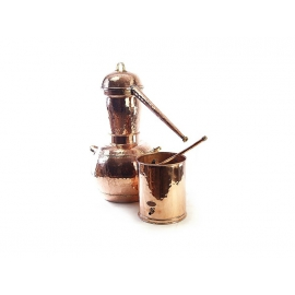 Самогонный аппарат Арабский аламбик 15 л, сварка стыков + термометр